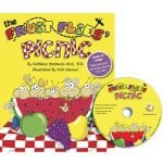 Book for children - healthy food choices - The Fruit Flies Picnic