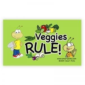 Magnet - Veggies Rule