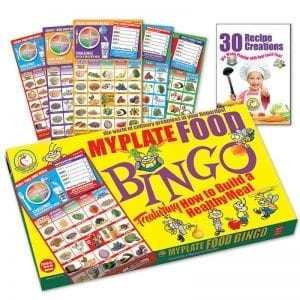 MyPlate Food Bingo - Healthy Food Choice Game for Kids