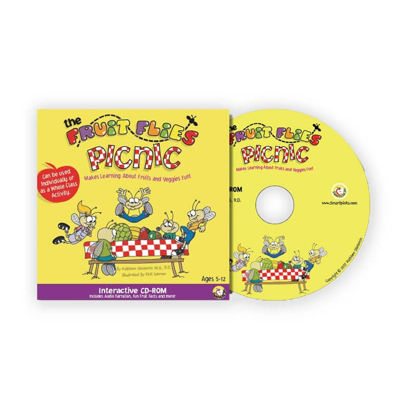 The Fruit Flies Picnic - Interactive CD for Children - Healthy Food Choices